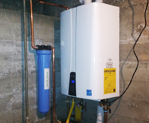 On Demand Tankless Systems R Amp B Plumbing Amp Heating